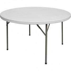 Okrúhly Stôl skladací stravovanie fi 1150 h 740